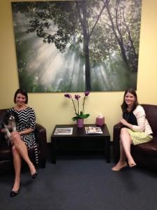 Stephanie, Abbie, and Bonnie at New PHRC LA office